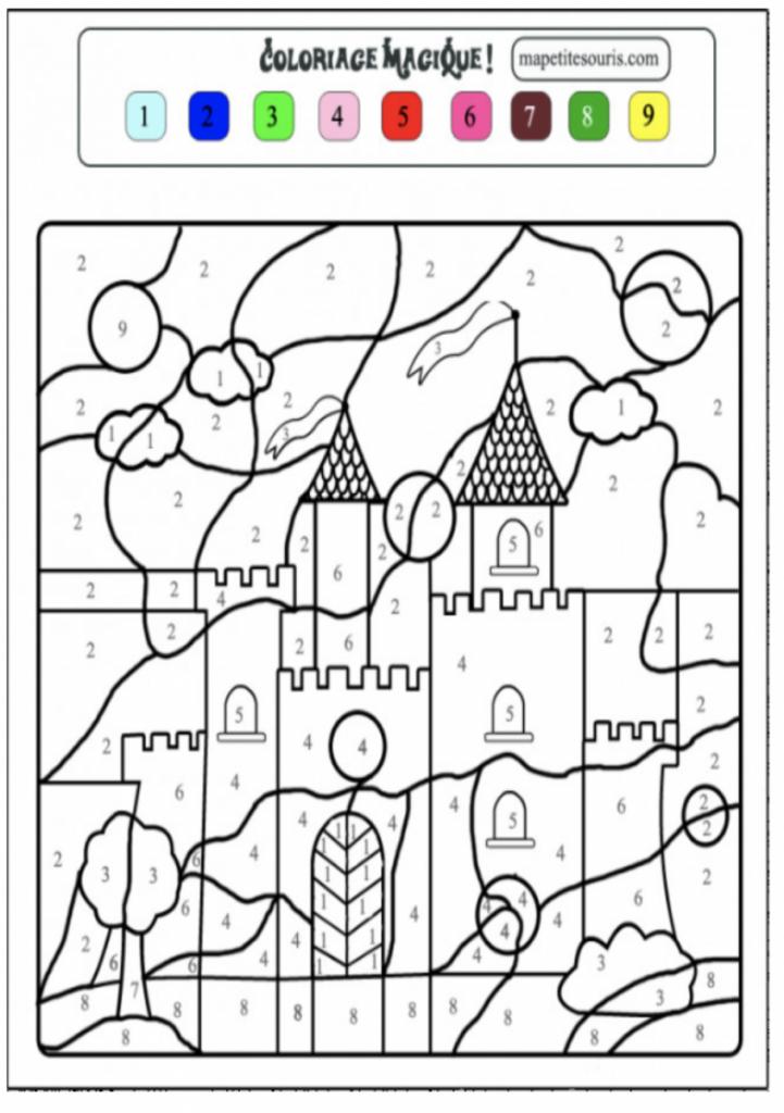 imprimer Coloriage Magique Maternelle Pics - Lesgenissesdanslmais